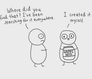happiness-I created it myself